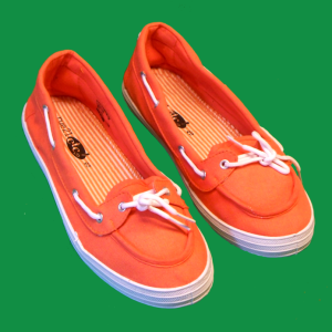 rue21 ORANGE TENNIS SHOE