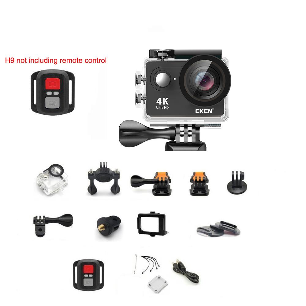Original 100 Eken H9 H9r Action Camera Ultra Hd 4k Wifi 1080p Sport Cam Full With Remote